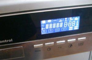 Ошибки посудомоечной машины Кайзер