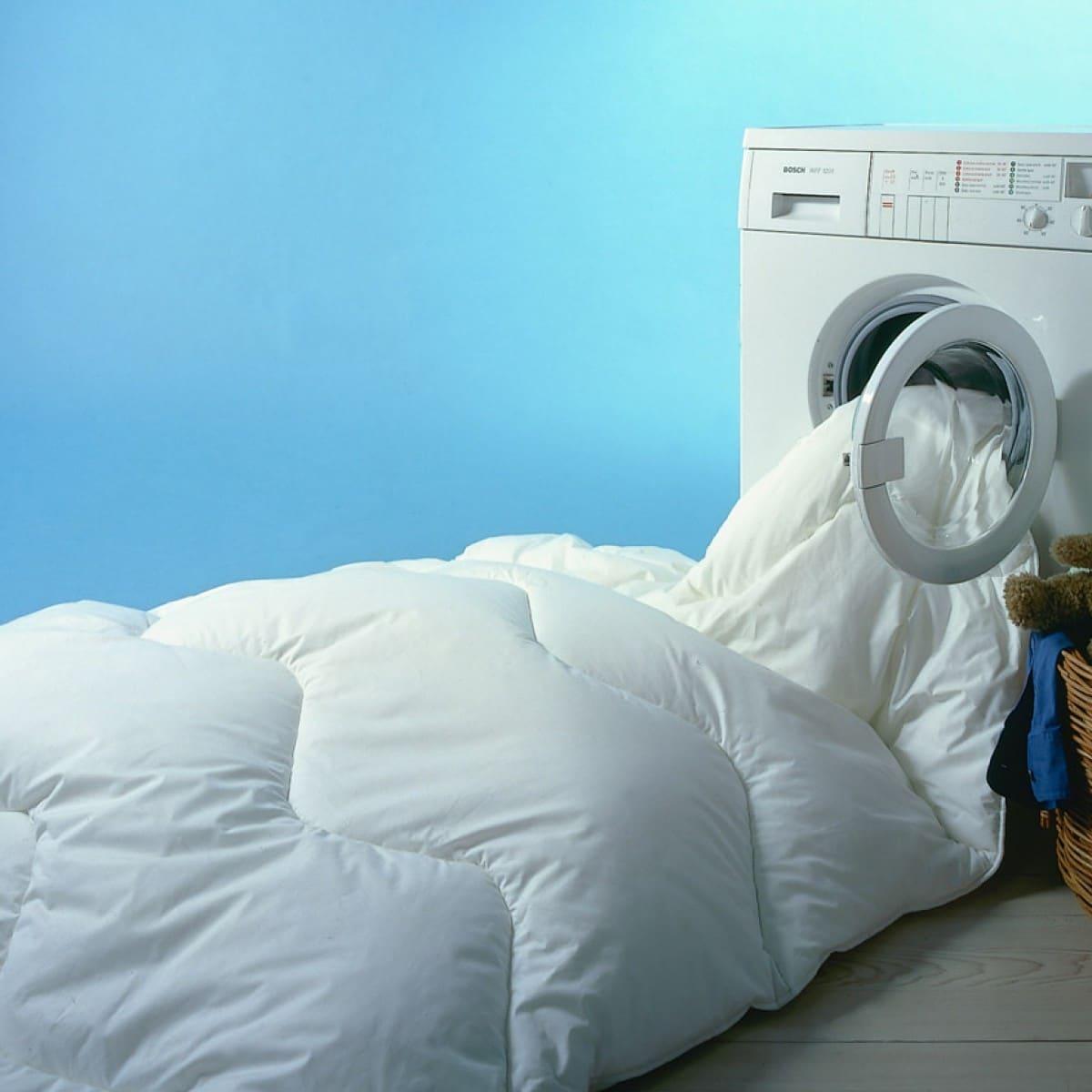 Стирка одеяла в стиральной машине