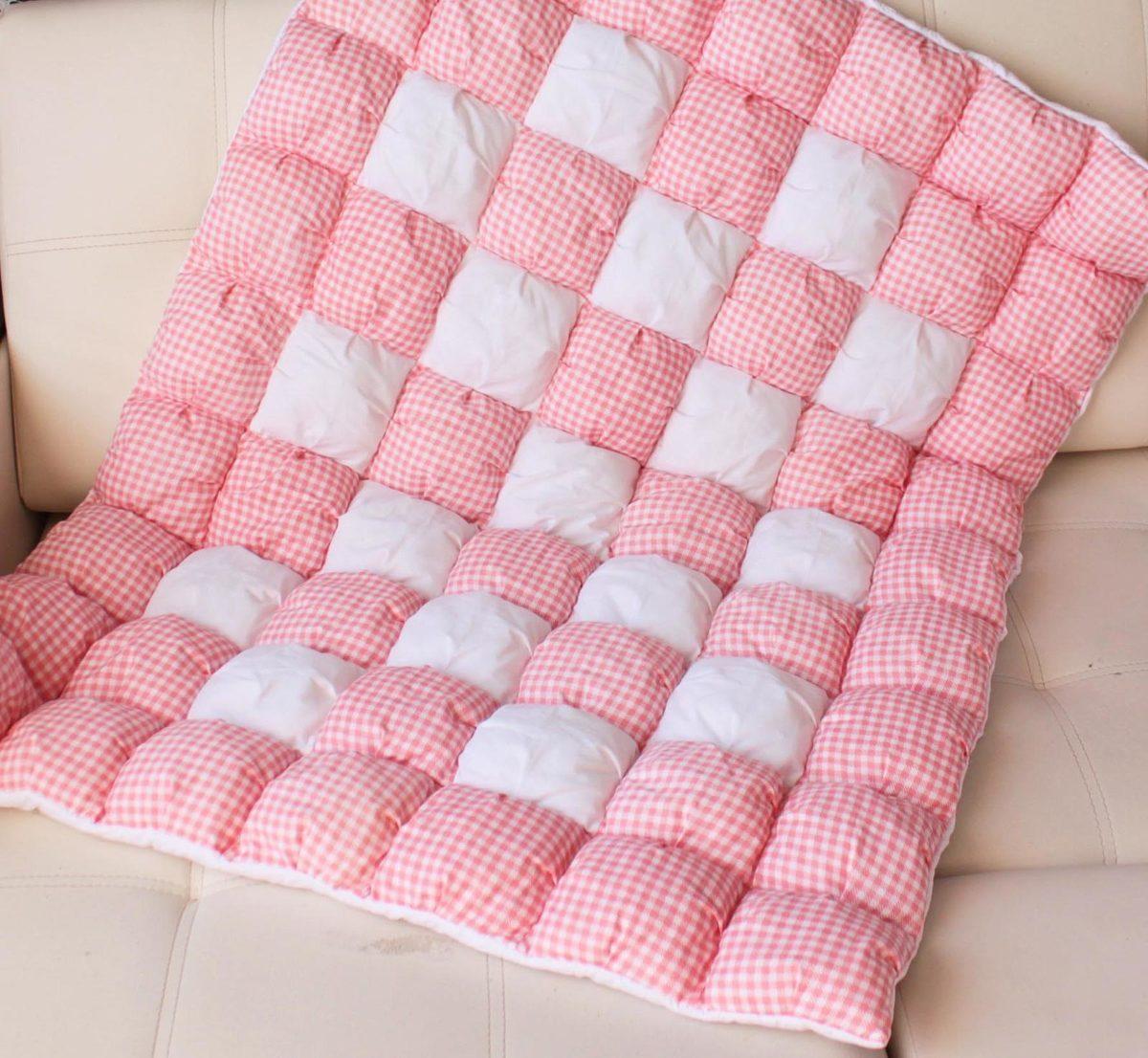 Постиранное синтепоновое одеяло