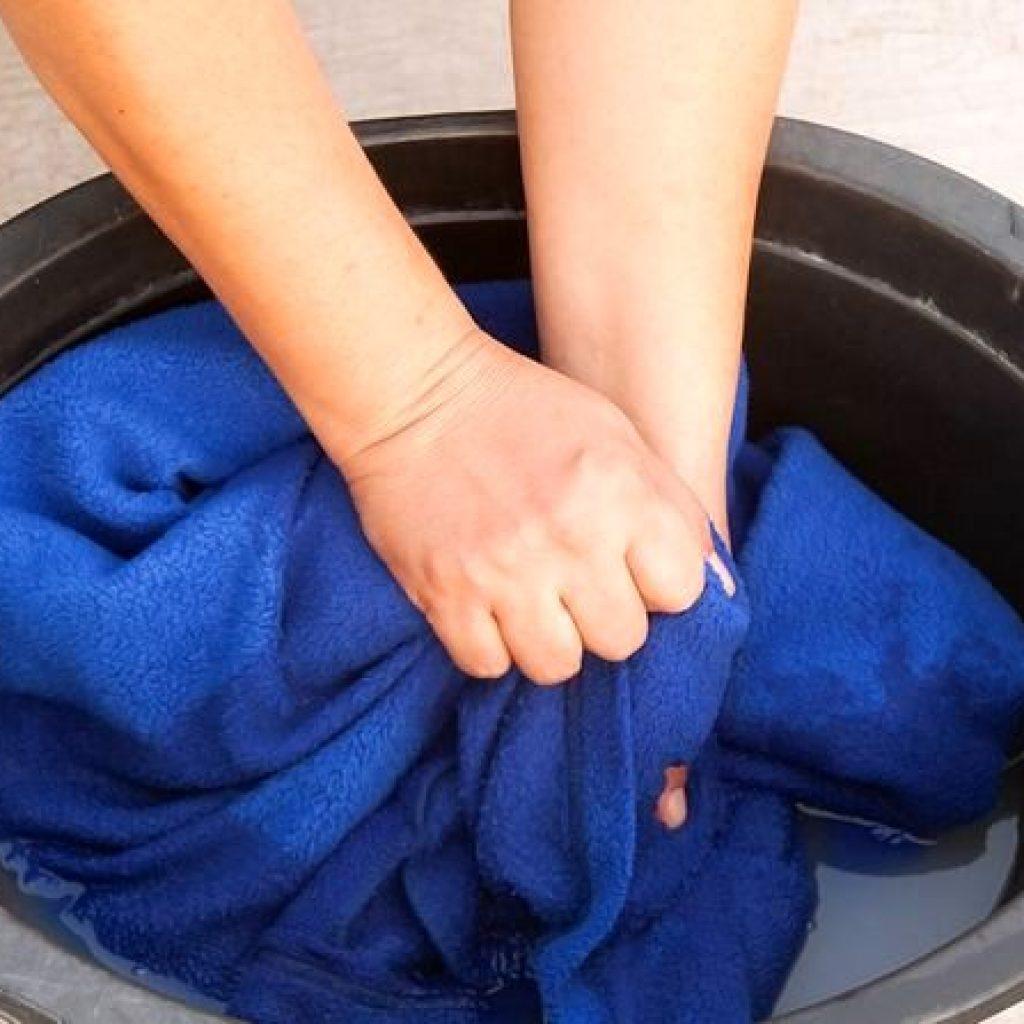 Восстановление одежды из кашемира