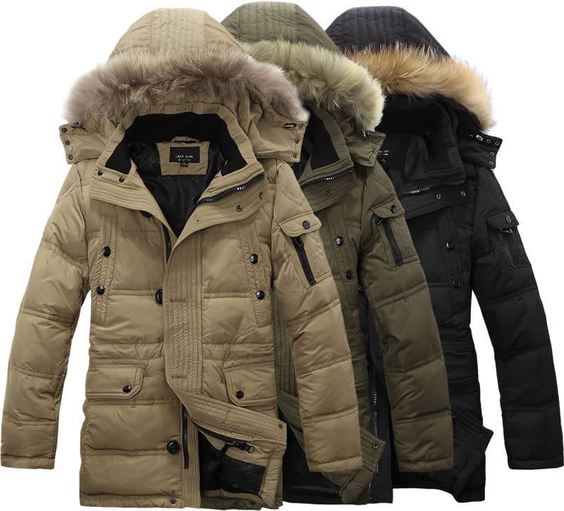 Пуховые куртки