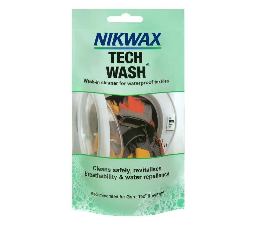 Средство Nikwax Tech Wash + TX Direct для водонепроницаемых материалов
