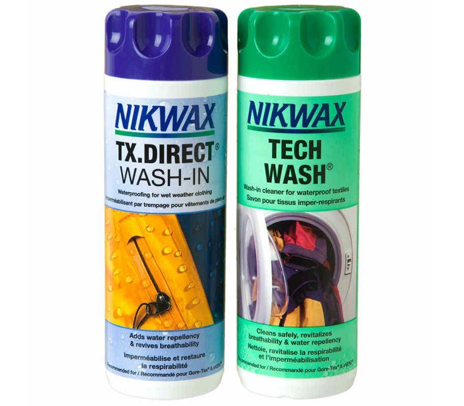 Nikwax Tech Wash поможет выстирать палатку