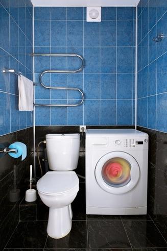Размещение СМА в туалете