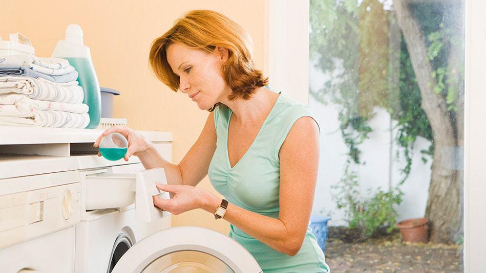 Дозирование моющих средств в СМА перед стиркой