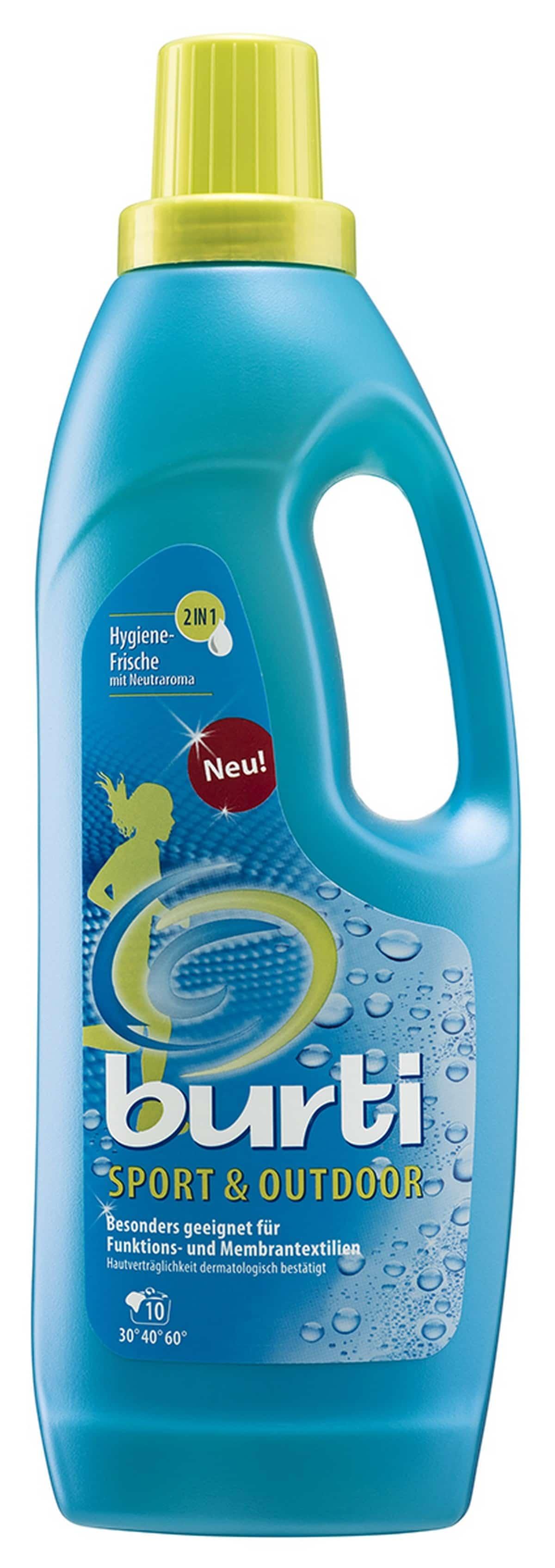 Burti Sport - средство для очистки флиса