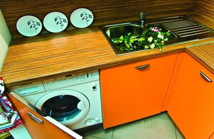 СМА в кухонном шкафу