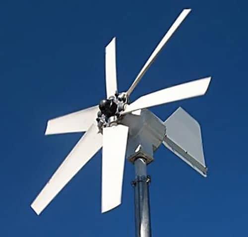 Один из видов самодельного ветрогенератора