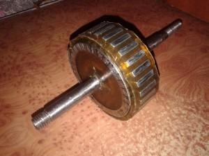 Ротор самодельного ветрогенератора