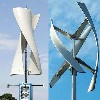 Ветрогенератор в собранном виде