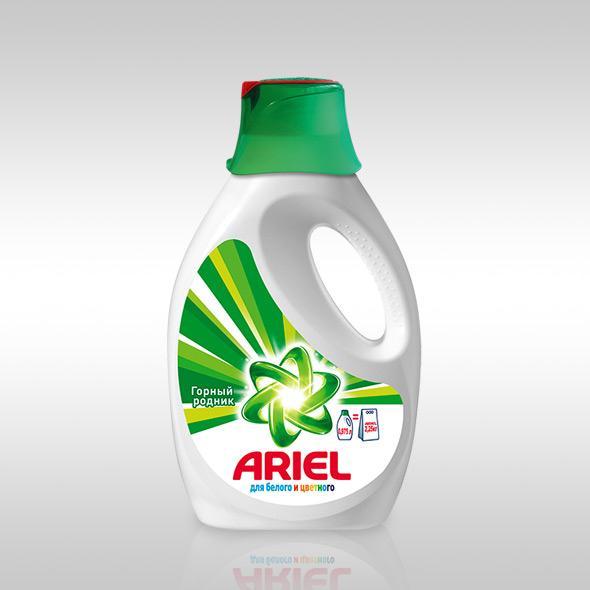 Американское жидкое моющее средство Ariel