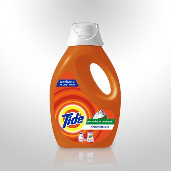 Жидкое моюшее средство Тайд