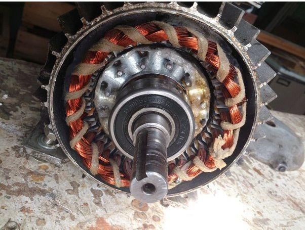 Установка ротора мотора СМА