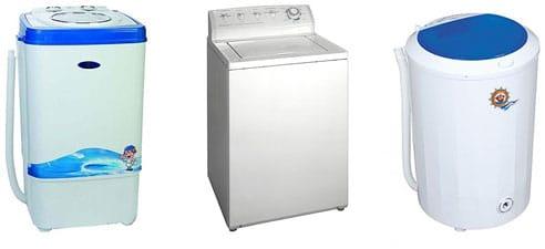 Разные виды ручных стиральных машин