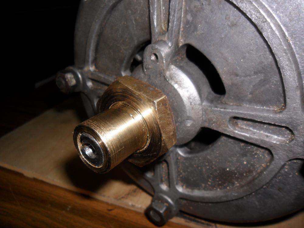 Насадка на вал электродвигателя
