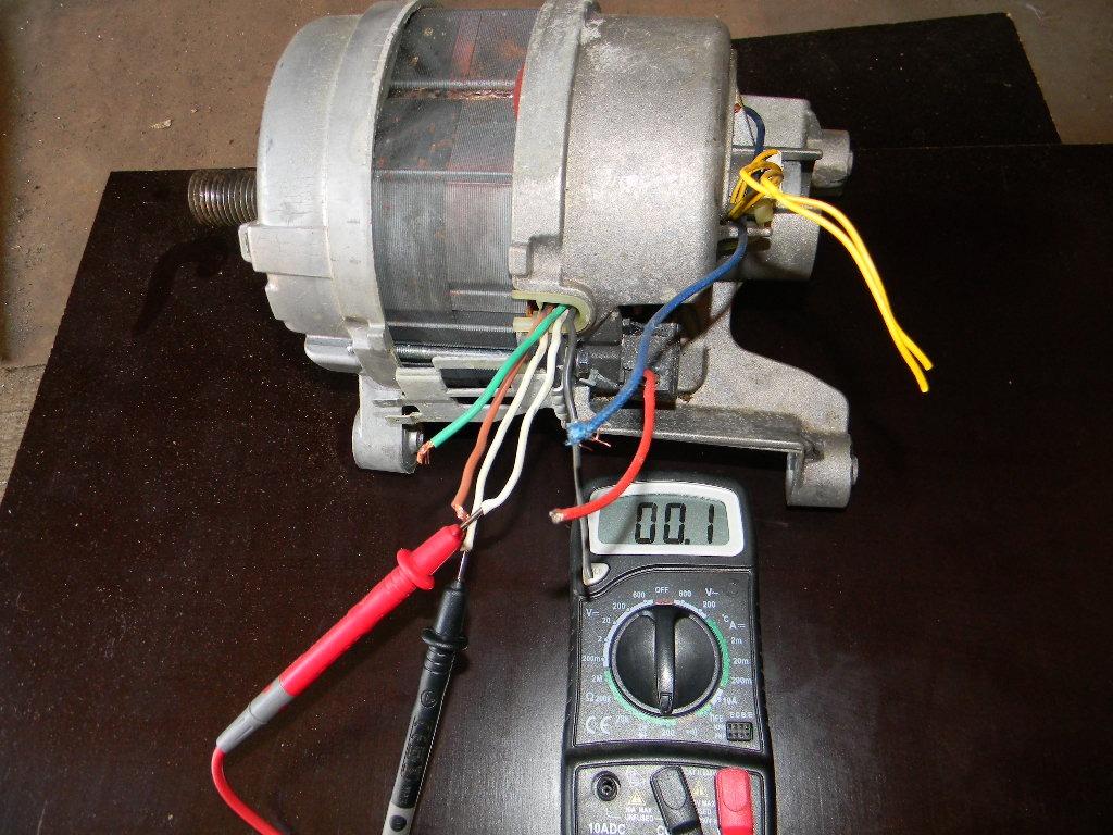 Проверка двигателя мультиметром