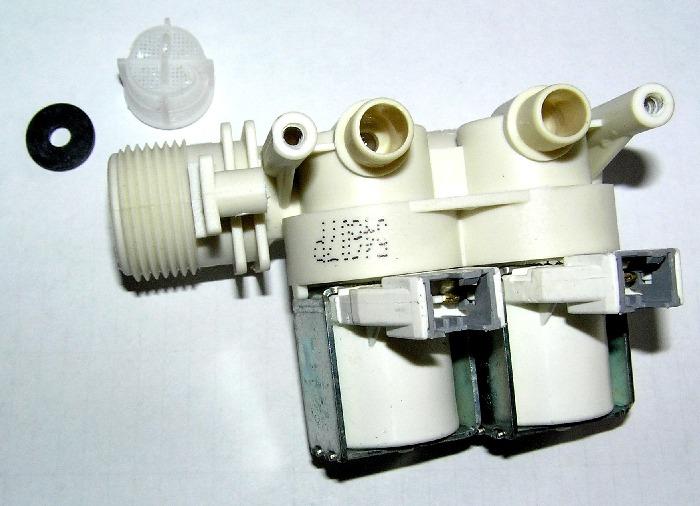 Разобранный впускной клапан СМА