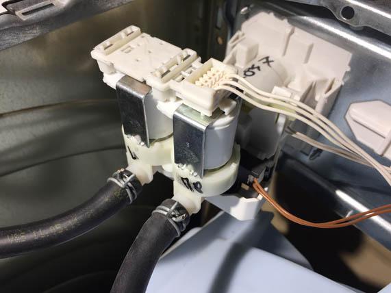 Клапаны стиральной машины-автомат