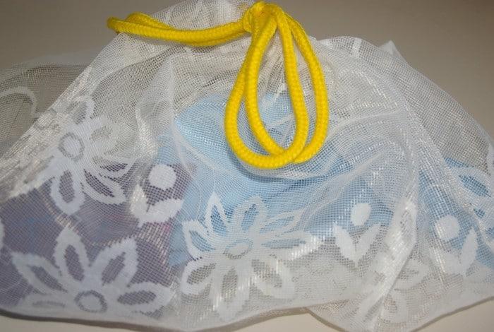 Самодельный мешок для стирки