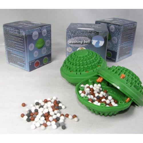 Упаковка стиральных шаров