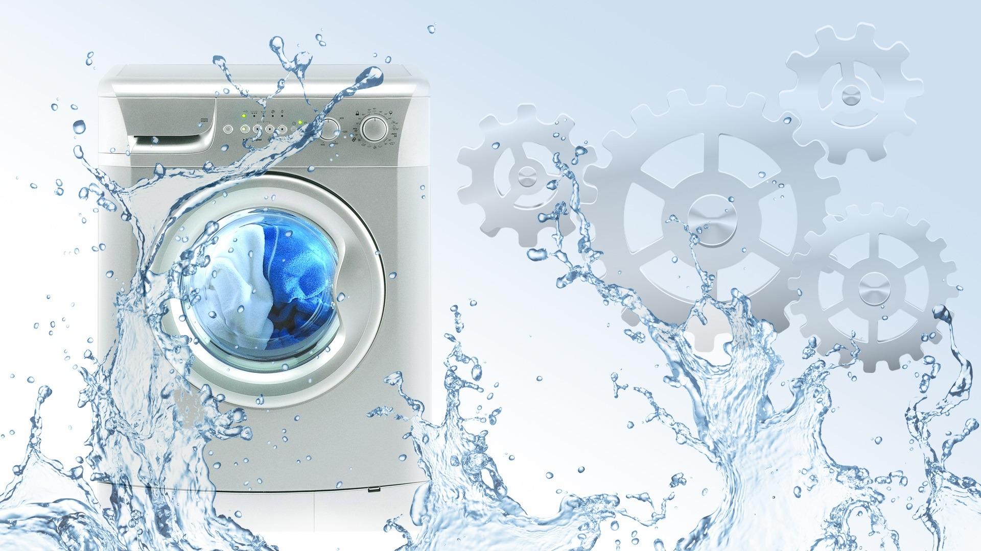 Утечка воды из СМА