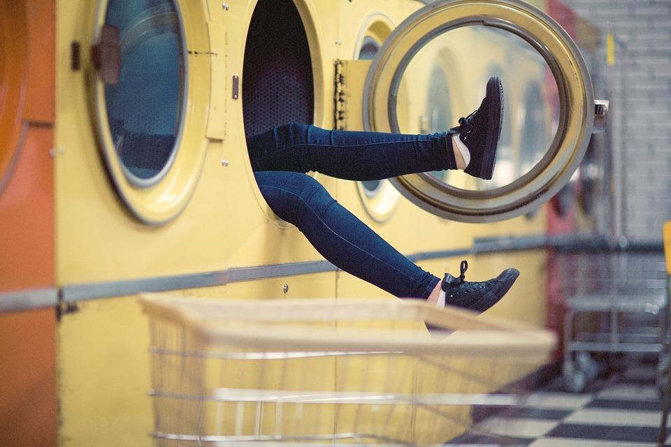 Вместительная стиральная машина