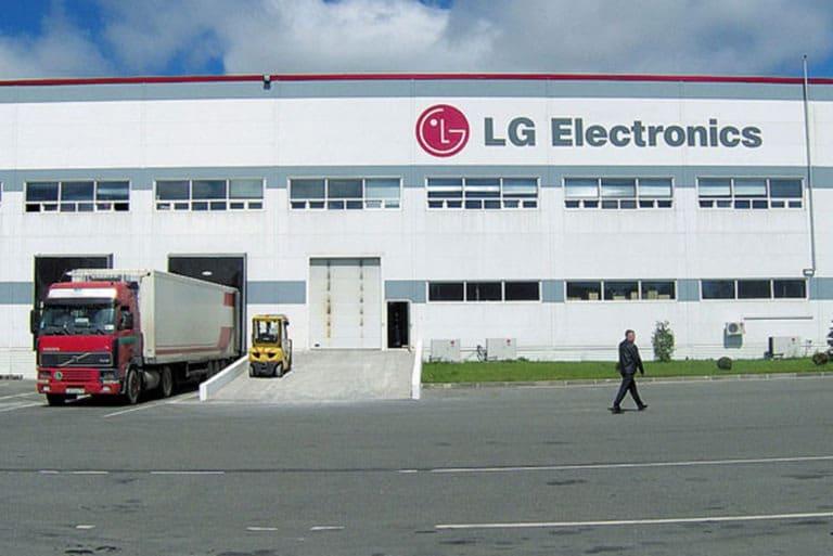 Производственные мощности LG