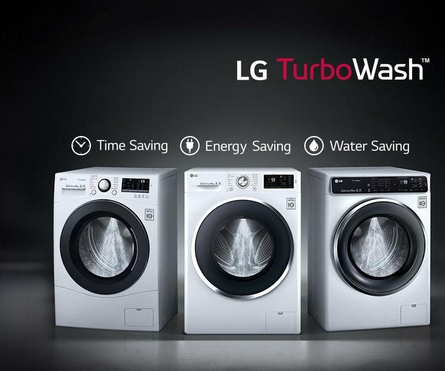 линейка СМА LG Turbo Wash