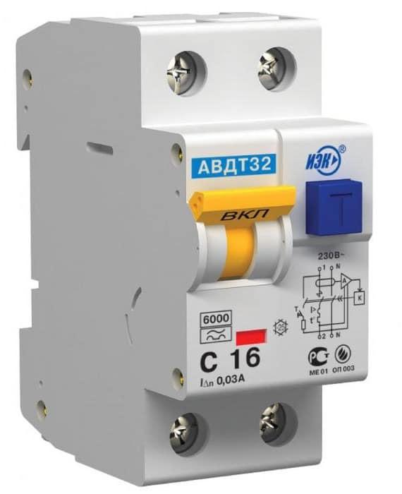 Электрический защитный автомат