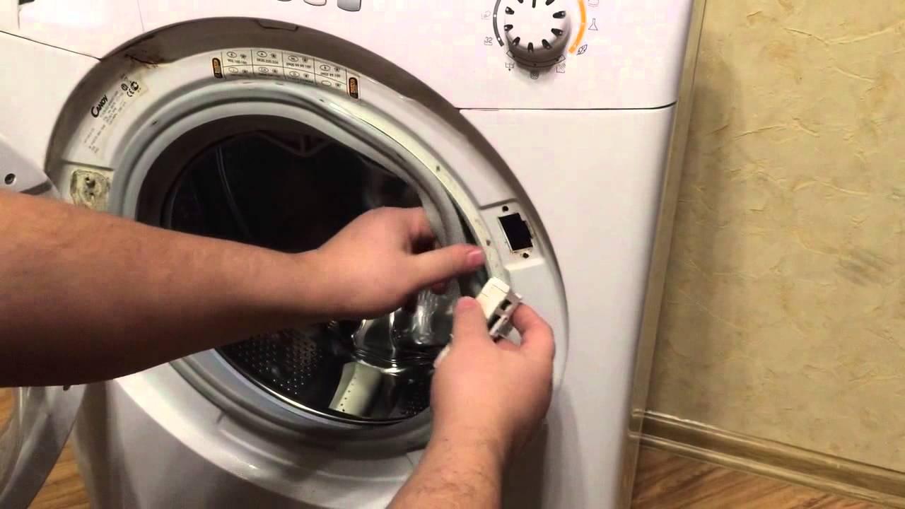 Снятие УБЛ стиральной машины