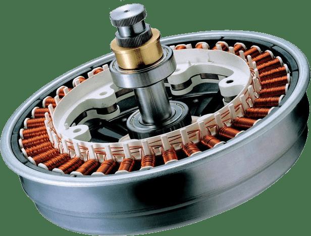 Прямоприводный двигатель стиральной машины-автомат