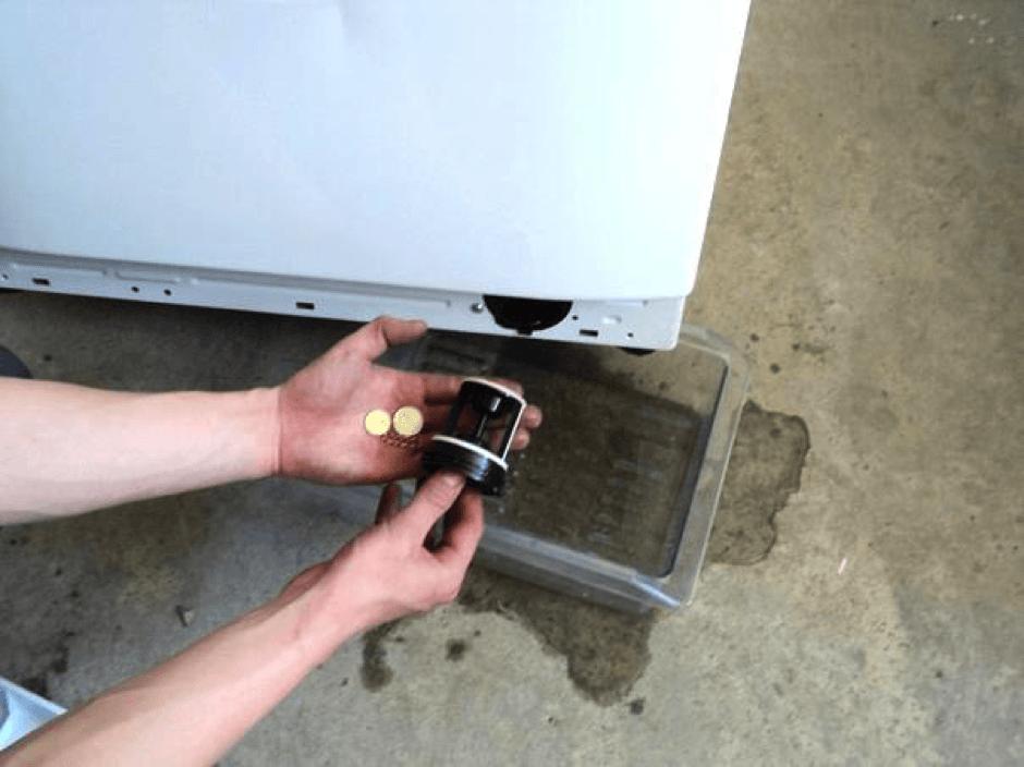 Посторонние предметы в дренажном фильтре
