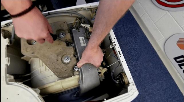 Демонтаж датчика термонагревателя