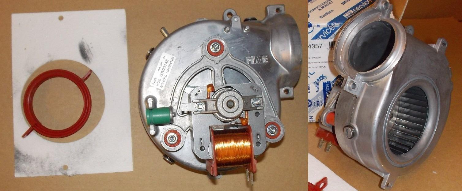 Вентилятор стирально-сушильной машины