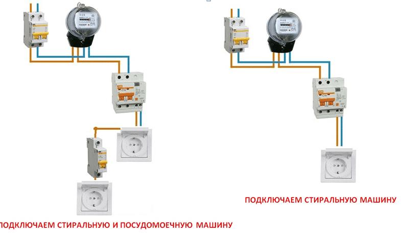 Схемы подключений