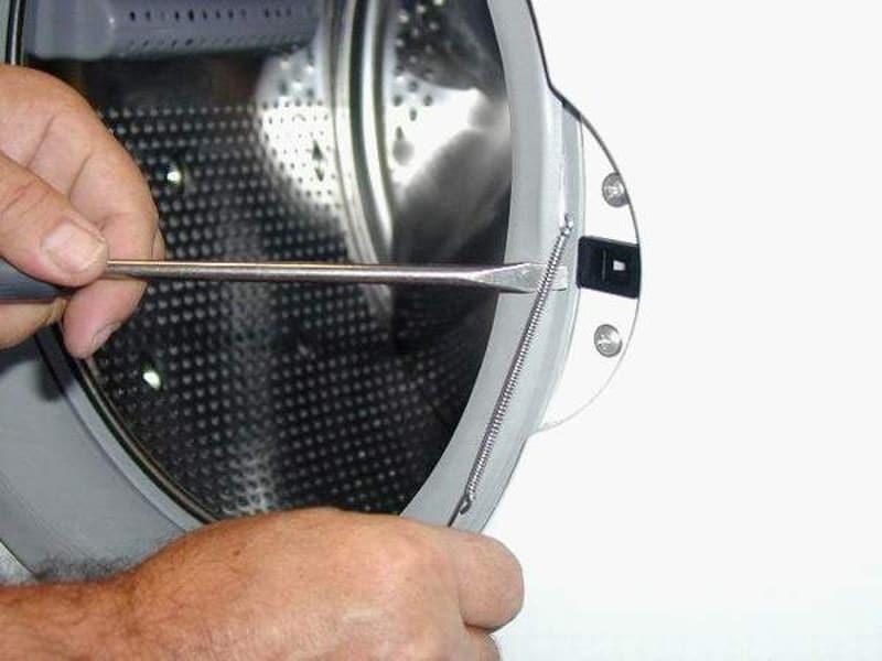 Демонтаж УБЛ стиральной машины-автомат