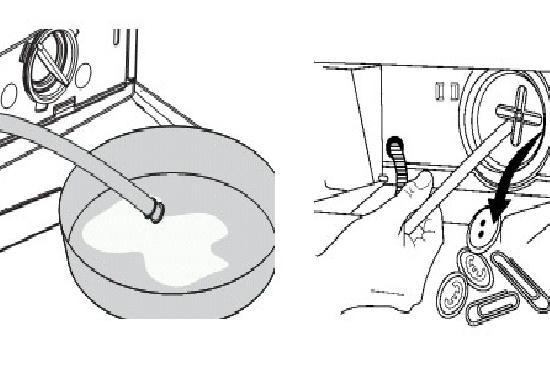Аварийный слив и чистка дренажного фильтра