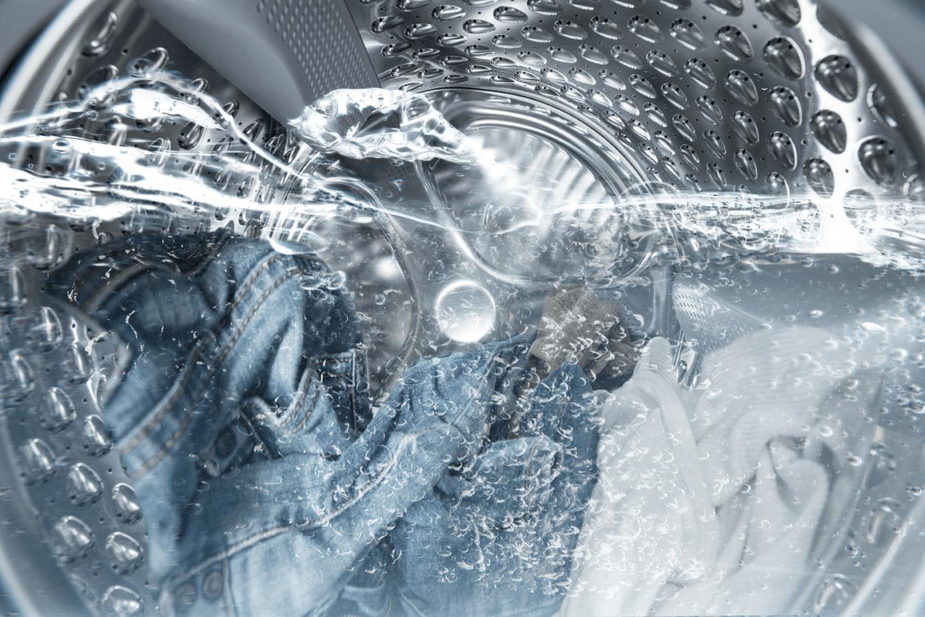 Заполненный водой барабан СМА