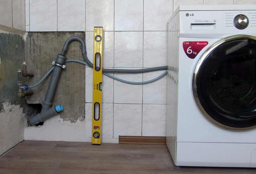 Отключение стиральной машины от водопровода