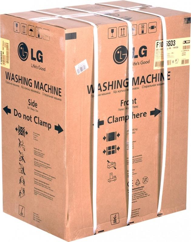 Упакованная стиральная машина-автомат