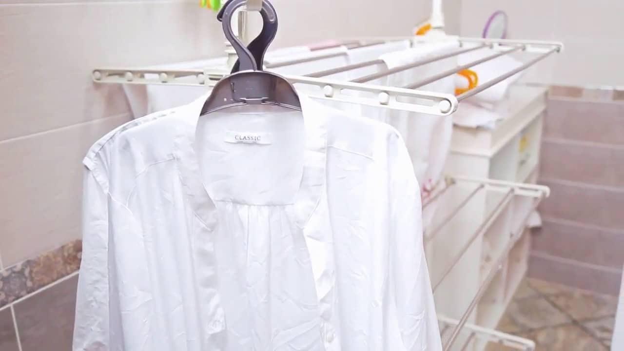 Белая рубашка после стирки