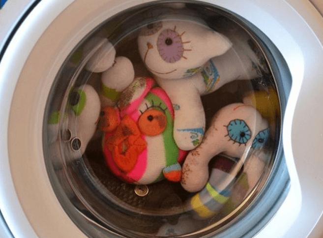 Стирка антистресс-игрушек в СМА