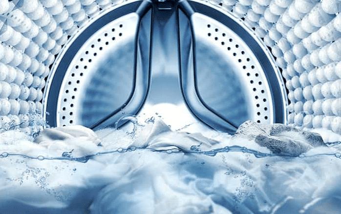 Внутренний обзор стиральной машины с системой Эко Бабл