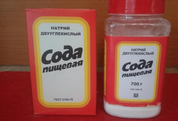 Воду можно смягчить и обычной содой