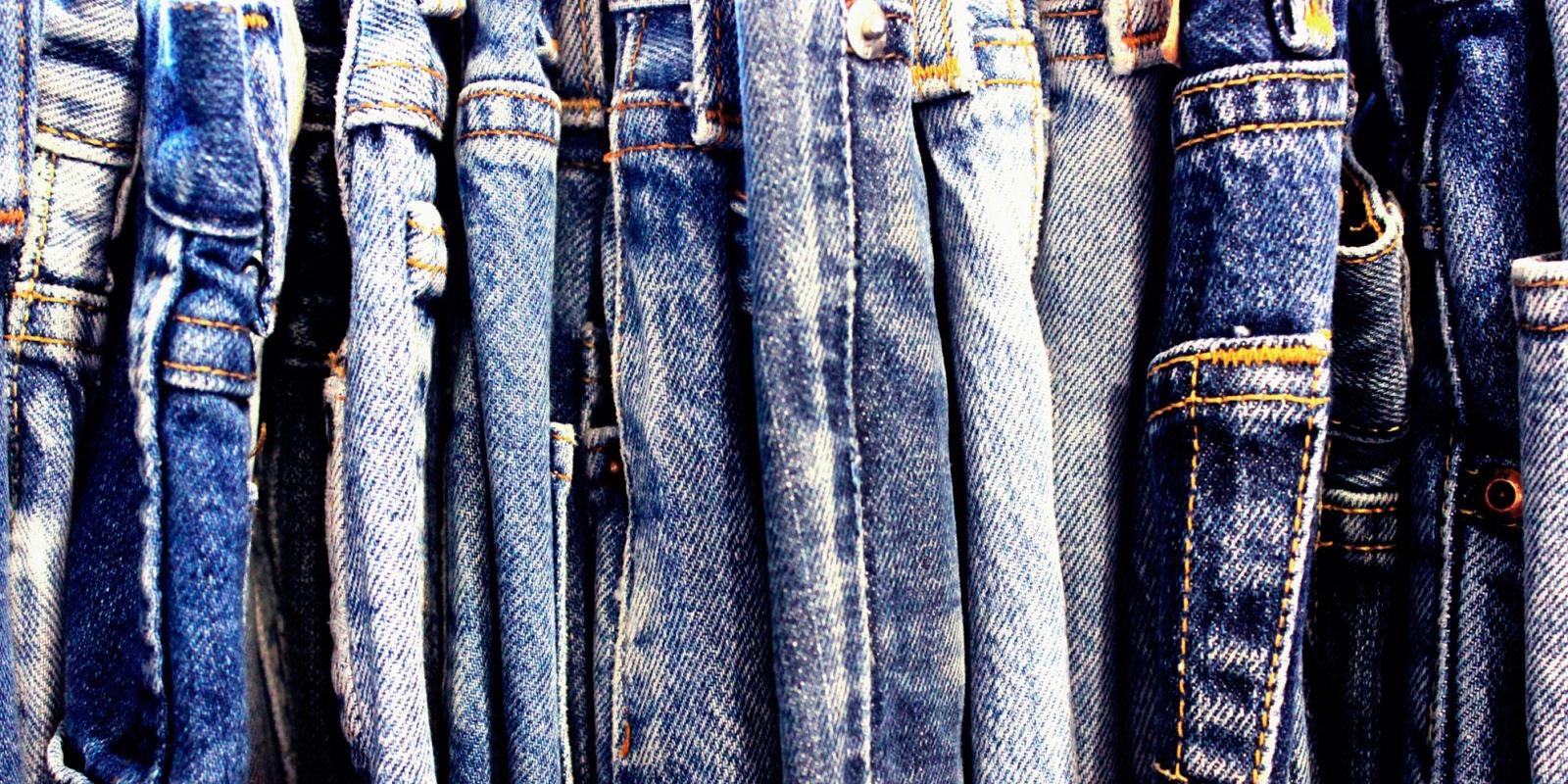Различные виды джинс
