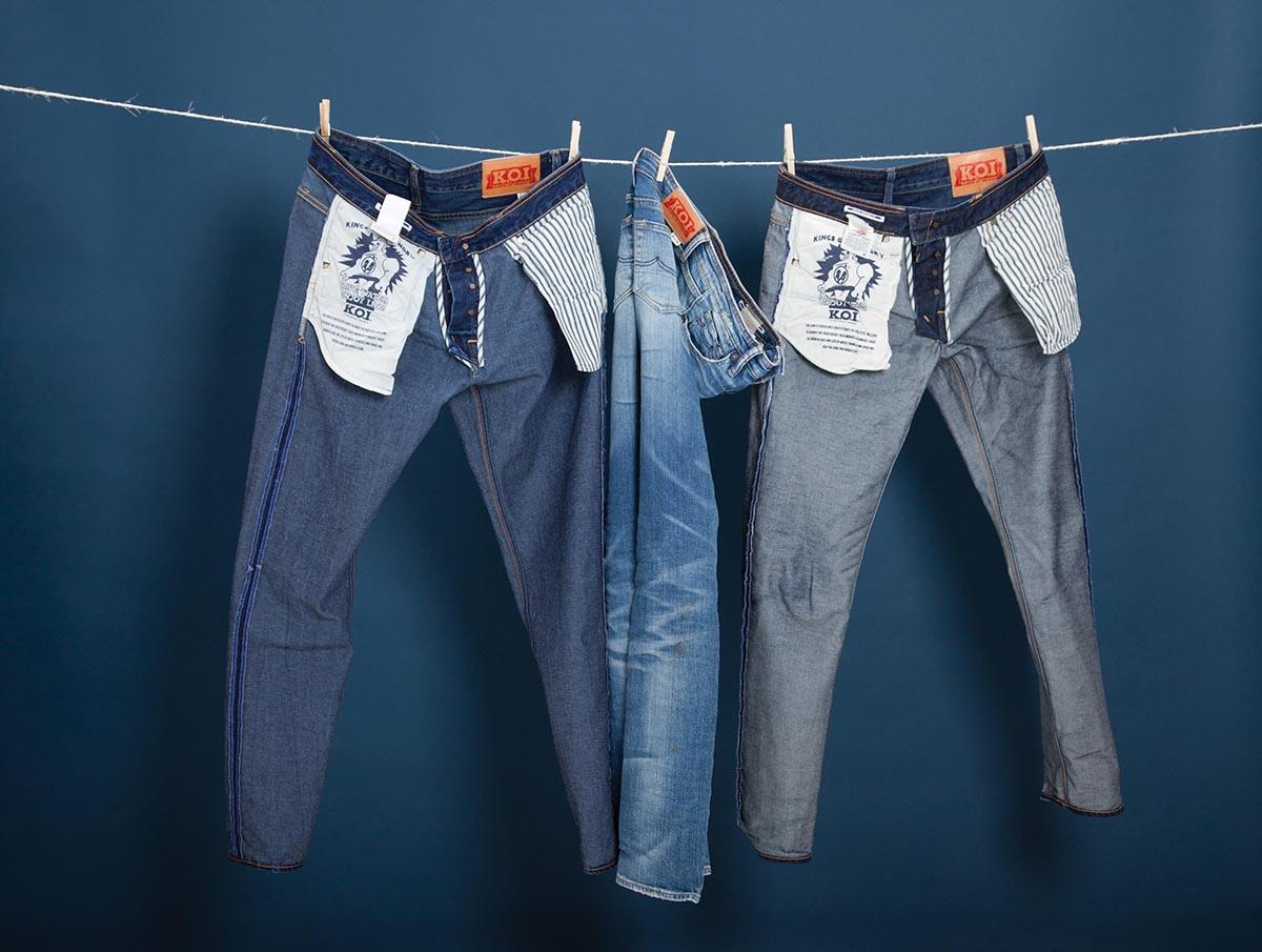 Сушка джинс после стирки