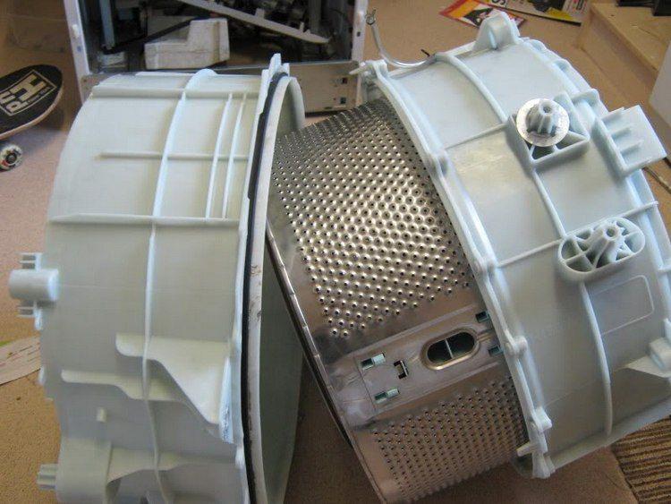 Разъединение половин барабанного комплекса СМА