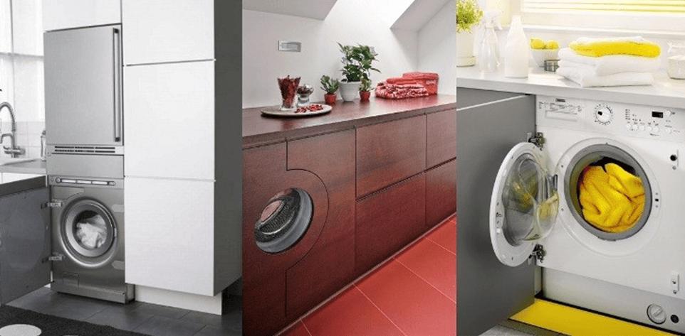Встраиваемые компактные стиральные машины