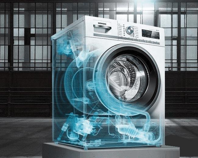 3D модель современной стиральной машины-автомат