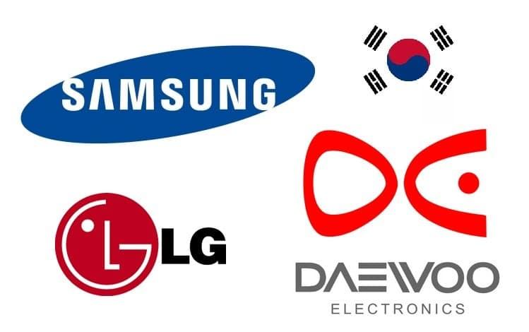 Топ корейских брендов производителей электроники